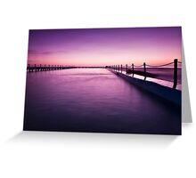 Narrabeen Sunrise II Greeting Card