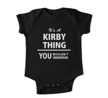Its a KIRBY thing, you wouldnt understand One Piece - Short Sleeve