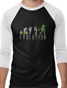 Evolution Aliens Men's Baseball ¾ T-Shirt