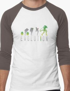 Evolution Aliens Men's Baseball ¾ T-Shirt