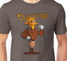 The Quacketeer. Unisex T-Shirt