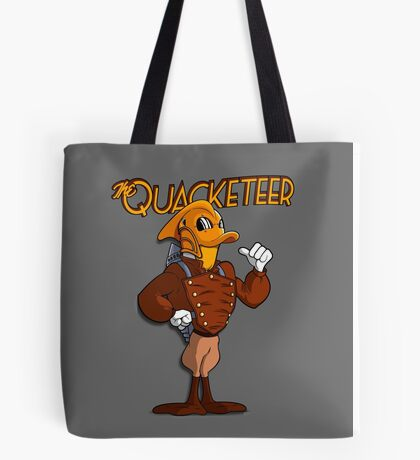 The Quacketeer. Tote Bag