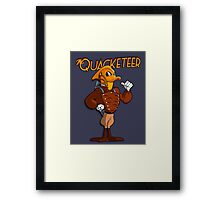 The Quacketeer. Framed Print