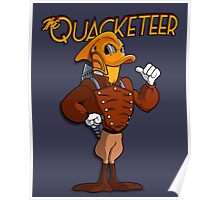 The Quacketeer. Poster