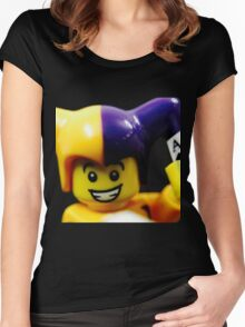 Lego Jester! Women's Fitted Scoop T-Shirt