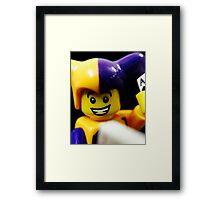 Lego Jester! Framed Print