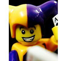 Lego Jester! Photographic Print