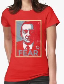 Fear Womens Fitted T-Shirt