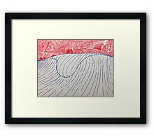 Day Dream Wave Framed Print