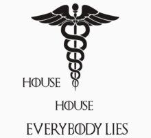 House House- Everybody lies Baby Tee