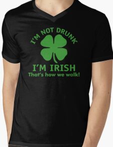 Irish Walk Mens V-Neck T-Shirt