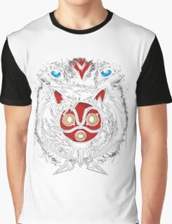 Forest Spirit Protector Graphic T-Shirt