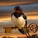 Swallow the key to Spring by JonnisArt