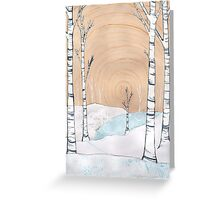 Snowy Forest Greeting Card