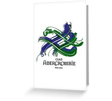 Clan Abercrombie  Greeting Card