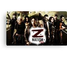 Z nation - cast Canvas Print