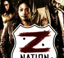 Z nation - cast Sticker