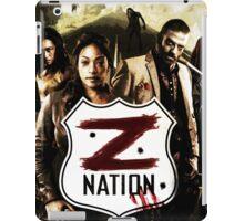 Z nation - cast iPad Case/Skin