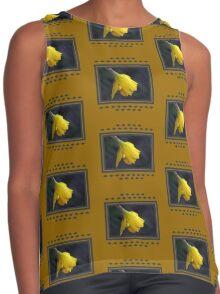 Daffodil Rain Contrast Tank