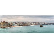 Biarritz Skyline France Photographic Print