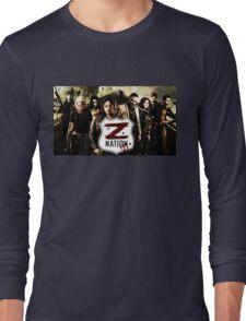Z nation - cast Long Sleeve T-Shirt