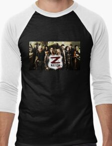 Z nation - cast Men's Baseball ¾ T-Shirt