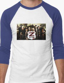 Z nation - cast Men's Baseball ¾ T-Shirt