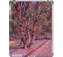 Tree on the track iPad Case/Skin