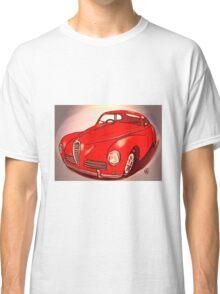 kugeliger kleiner roter Oldtimer Classic T-Shirt