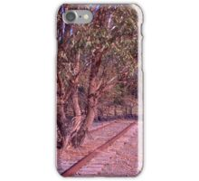 Tree on the track iPhone Case/Skin
