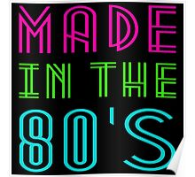 MADE IN THE 80'S Poster