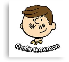 Charlie Brownson Canvas Print