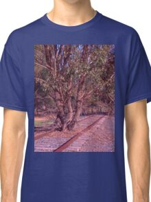 Tree on the track Classic T-Shirt