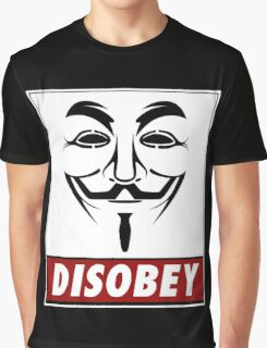 Anonymous Disobey Graphic T-Shirt