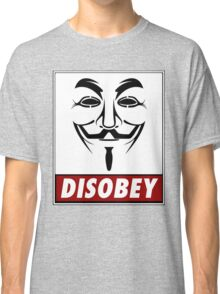 Anonymous Disobey Classic T-Shirt