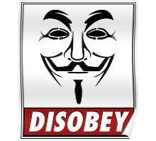 Anonymous Disobey Poster