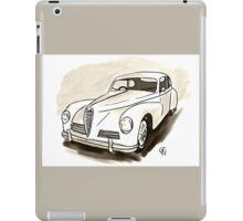 schöner sandfarbiger OldTimer iPad Case/Skin