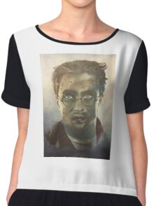 Harry Potter Oil Painting Chiffon Top