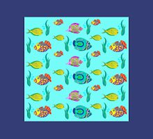 marine fish for a blue background Unisex T-Shirt