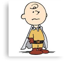One Punch Charlie Brown Canvas Print