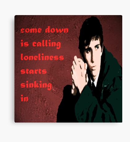 Comedown is Calling Canvas Print