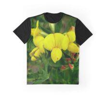 Lotus corniculatus - Birdsfoot Trefoil - Deervetch Graphic T-Shirt