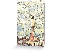 La Lanterna (of Genoa) Greeting Card