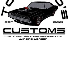 Toretto's Customs by CarloJ1956