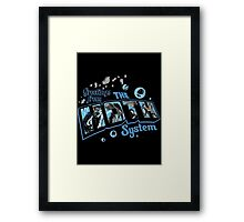 Greetings From Hoth Framed Print