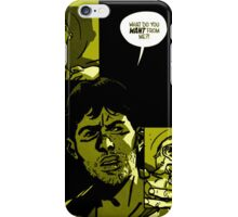 Outcast - yellow comic iPhone Case/Skin