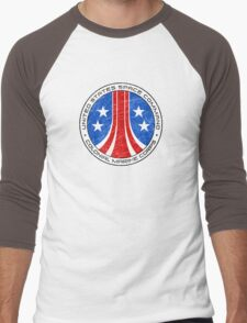 United States Colonial Marine Corps Insignia - Aliens - Dirty Men's Baseball ¾ T-Shirt