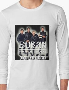 Duran Duran Paper Gods Tour 2016 Long Sleeve T-Shirt