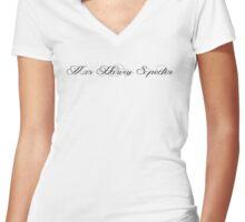 Mrs Harvey Specter Women's Fitted V-Neck T-Shirt