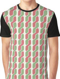 plait simple retro pattern Graphic T-Shirt